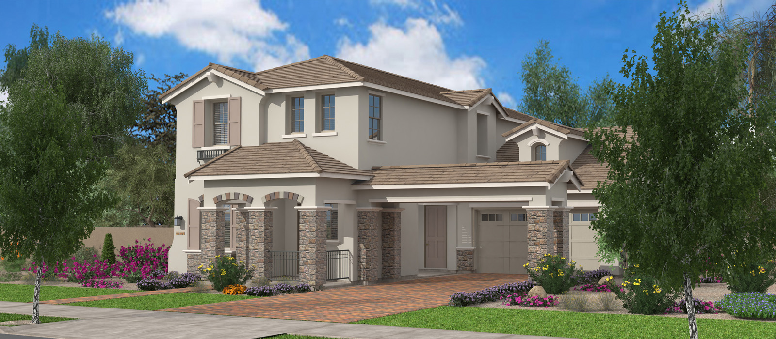 New Englander - Boston & Maine at Cooley Station by Fulton Homes