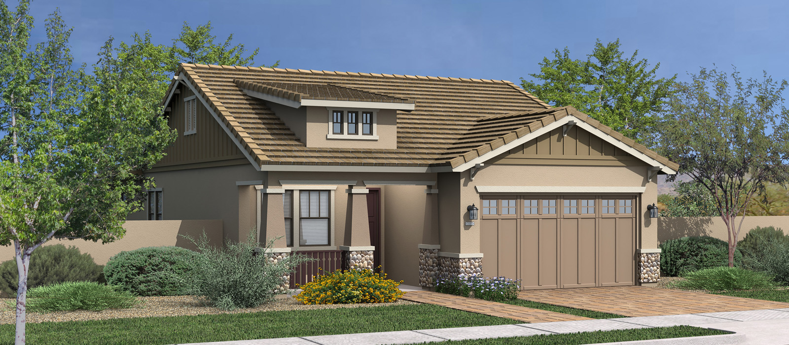Cottonwood Az Elevation : Cottonwood lakeview trails at morrison ranch by fulton homes