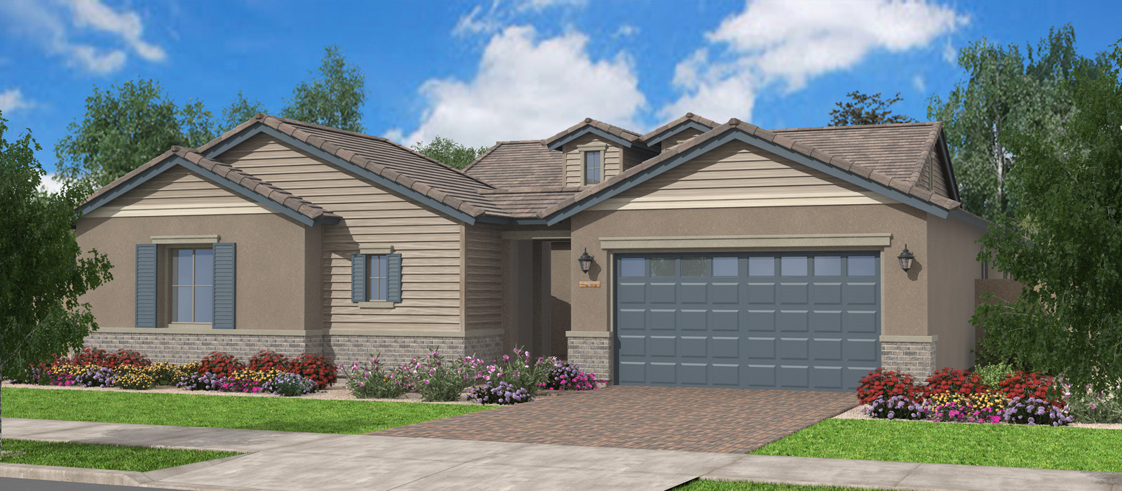 Burlingame Peninsula At Queen Creek Station By Fulton Homes