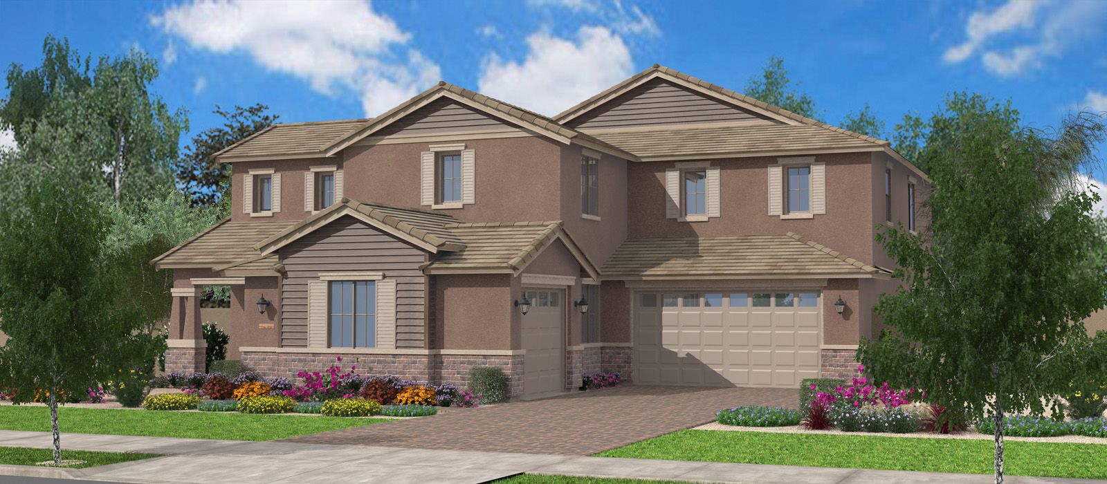 Woodside Peninsula At Queen Creek Station By Fulton Homes
