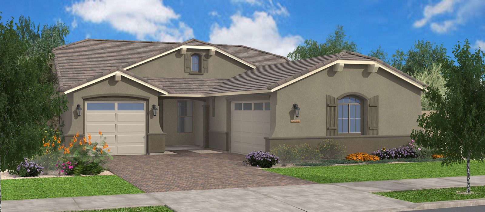 Indian Wells Oasis At Queen Creek Station By Fulton Homes