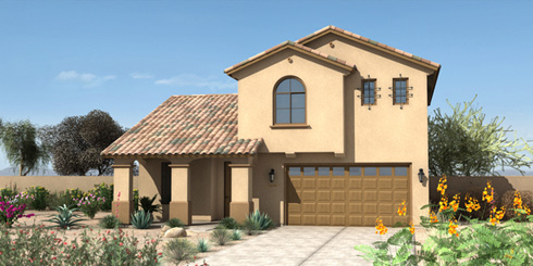 Silver Rose The Reserve At Fulton Ranch By Fulton Homes