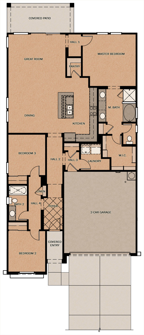 Amorosa Calistoga At Glennwilde By Fulton Homes
