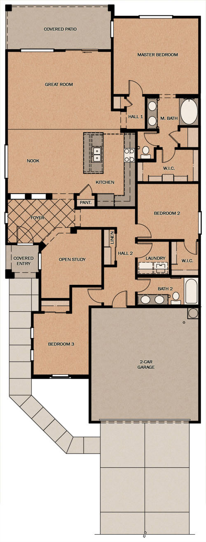 Fulton homes floor plans arizona for Arizona floor plans