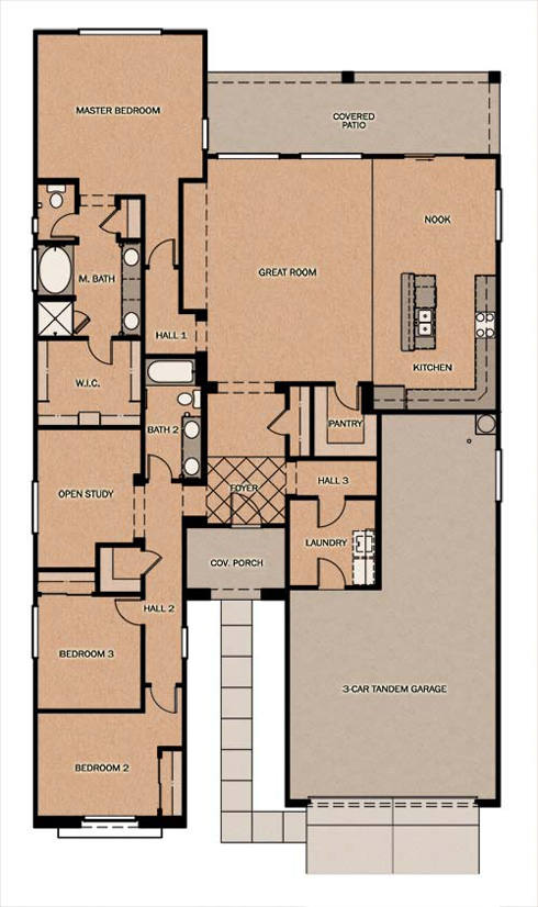 Barcelona Mediterranean At Ironwood Crossing By Fulton Homes