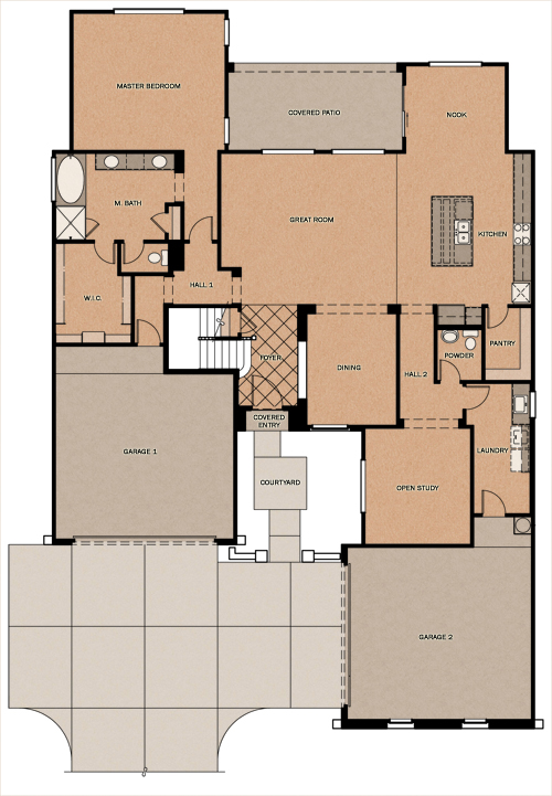 Fulton homes floor plans arizona for Arizona house plans