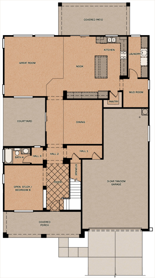 Bighorn Oasis At Queen Creek Station By Fulton Homes