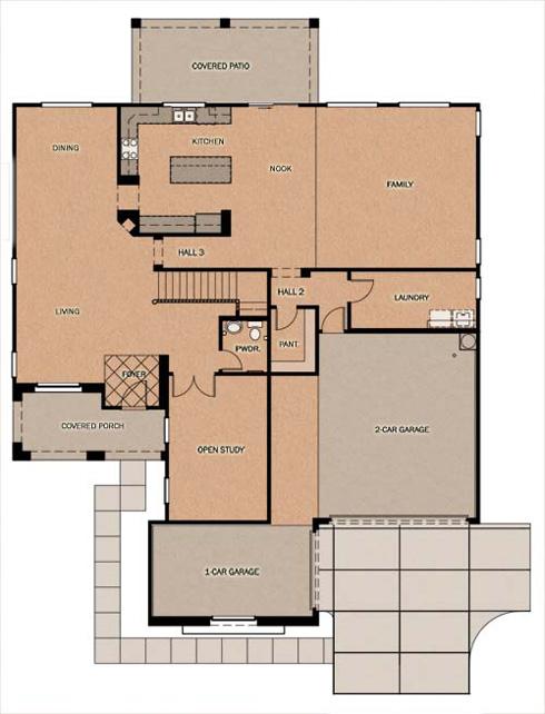 Fulton Homes Vintage Ranch Floor Plans