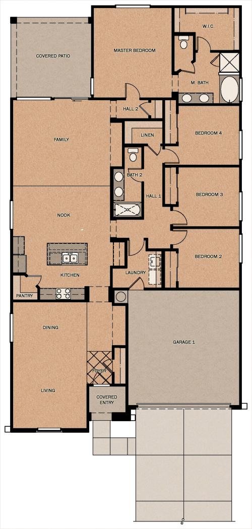 Arizona Home Design Idea Center: Fulton Homes Floor Plans Arizona