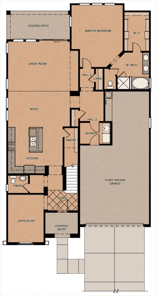 Silverado - Reserve at Queen Creek Station by Fulton Homes