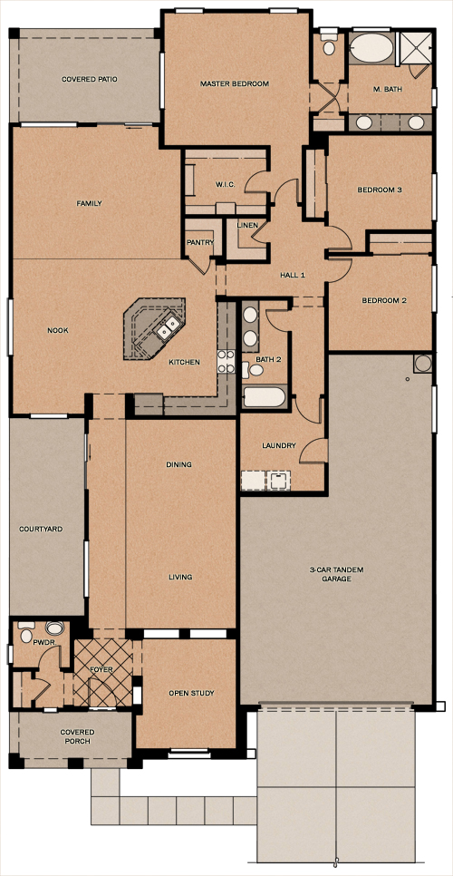 La Quinta Oasis At Queen Creek Station By Fulton Homes