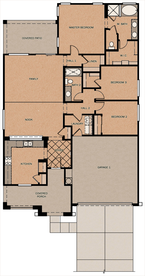 Buena Vista Reserve At Queen Creek Station By Fulton Homes