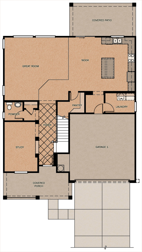 Silver Rose Reserve At Queen Creek Station By Fulton Homes