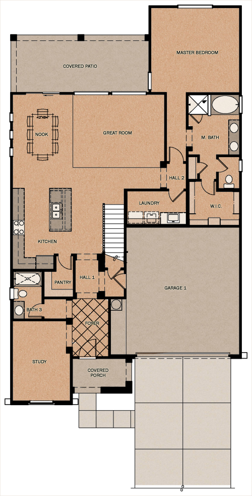 Oakville Reserve At Queen Creek Station By Fulton Homes